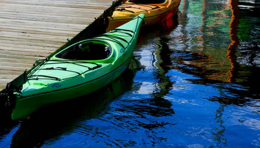 Kayaks can be susceptible to mildew and mould.
