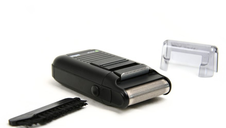 Clean electric razors after each use to prevent the growth of bacteria.