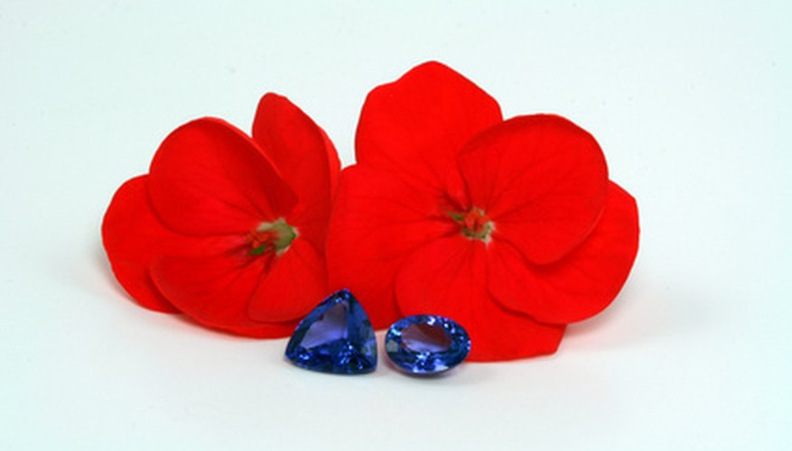 Tanzanite is associated with 24th wedding anniversaries.