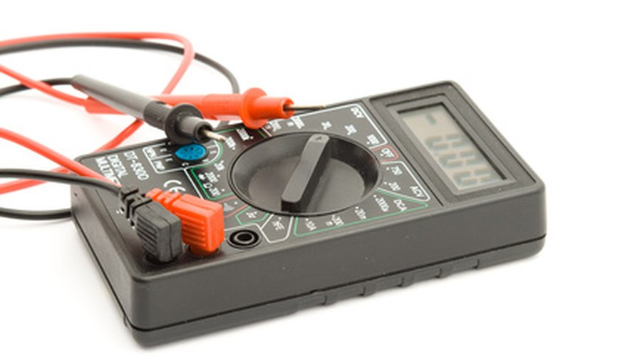 Use a multimeter to check the alternator ampere output.
