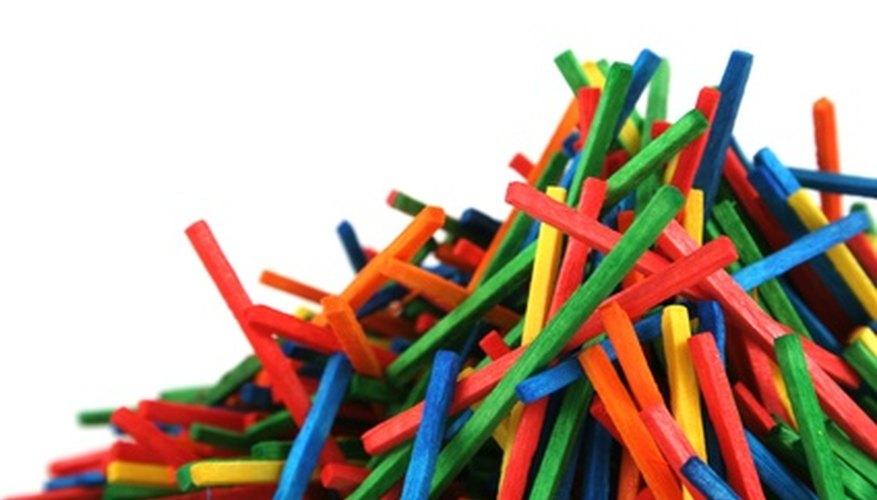 Coloured Match Sticks