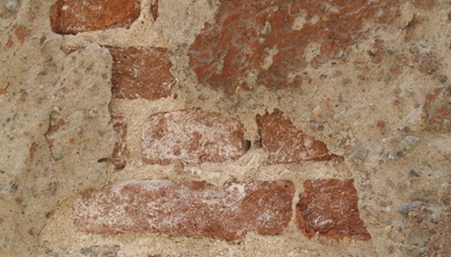 Water causes efflorescence in concrete and masonry.