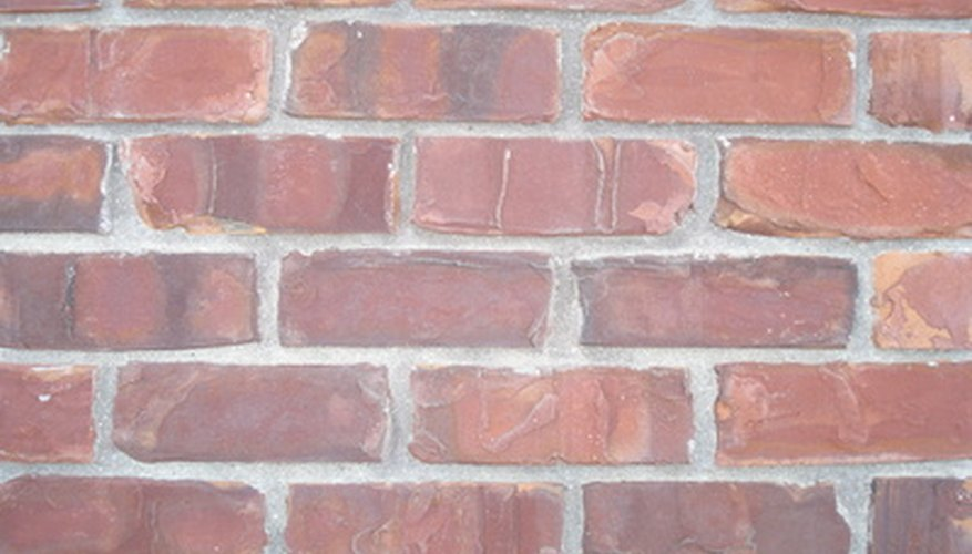 Removing glue from bricks takes powerful chemicals.