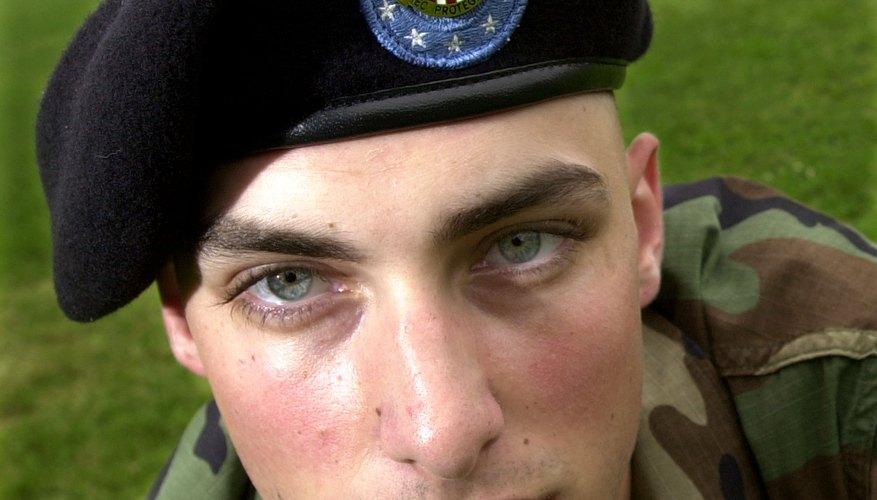 Face of Army Private E-3