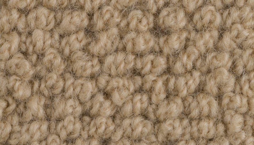 Wool carpet needs special care.