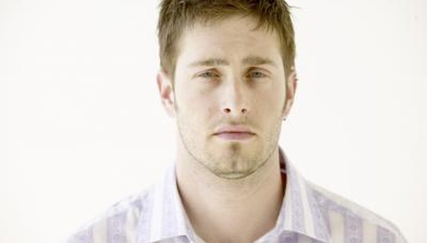 Men can hide their chin dimple by growing a beard or goatee.