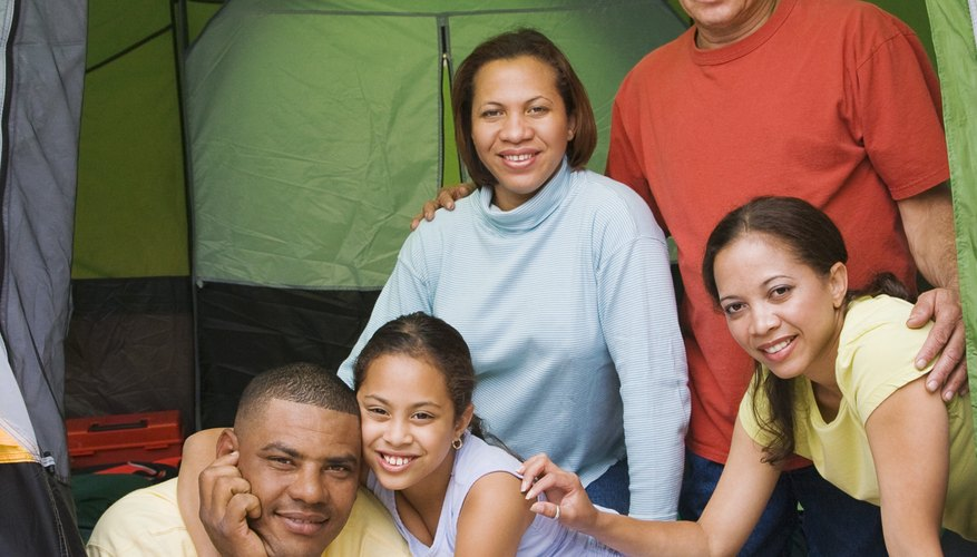 The prayers of the husband shelter his family, much as a tent does.