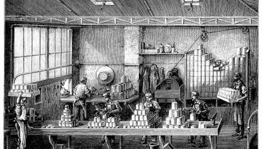 Canning was developed in the early 1800s.