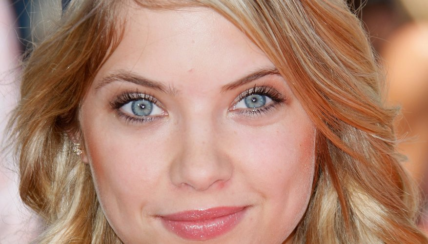 Polished curls like Ashley Benson's can be created using baby wipes.