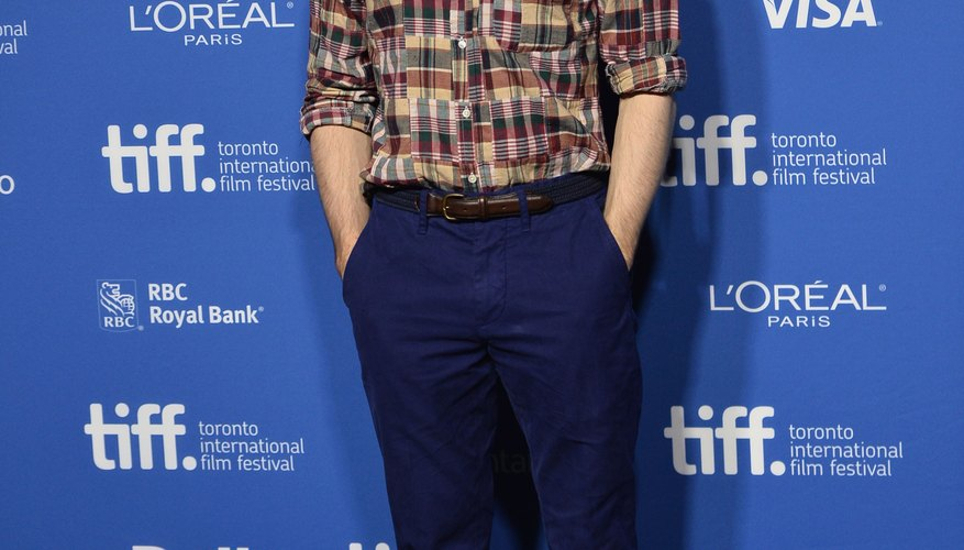 Daniel Radcliffe's look is casual, yet totally put together.