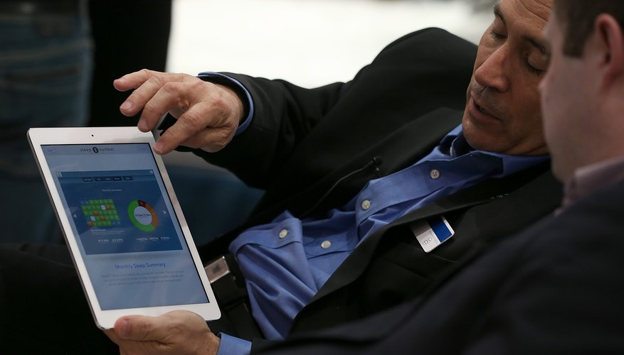 Delete unused apps from your iPad to free up resources on the device.