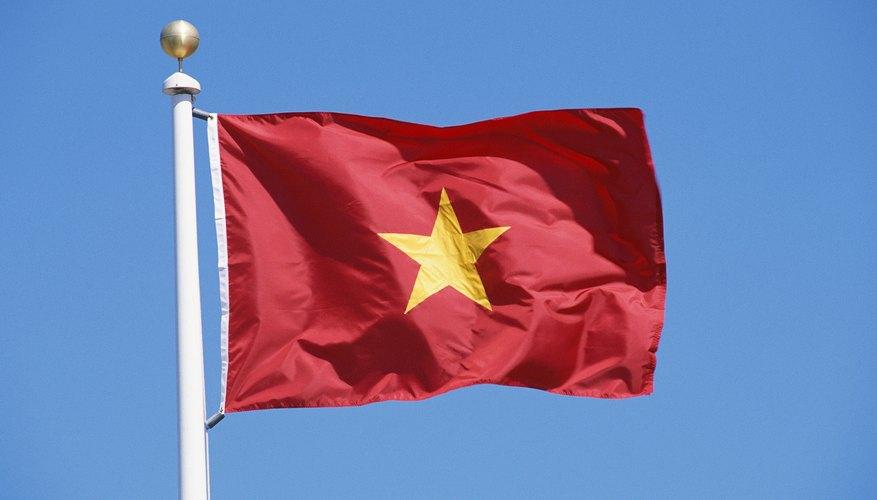 The flag of Vietnam was inspired by the nation's early colonial resistance movement.