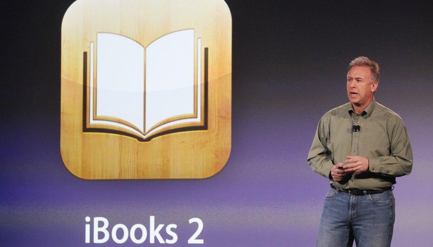 Senior VP of Apple, Phil Schiller, talks about iBooks.