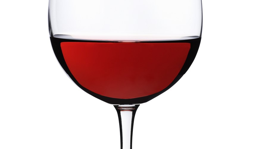 Red wine is served during the Memorial celebration in remembrance of Jesus' sacrificial blood.
