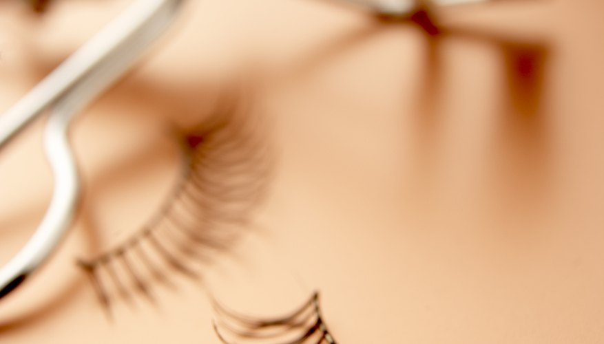 If mascara allergies hold back your makeup fantasies, try false lashes.
