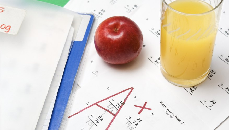 An organized student may get better grades in school.