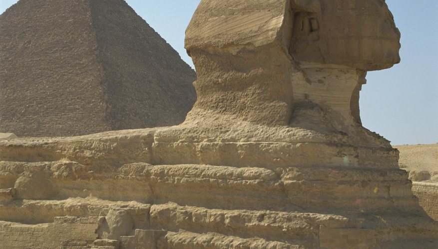 The Great Sphinx is part of a larger complex.