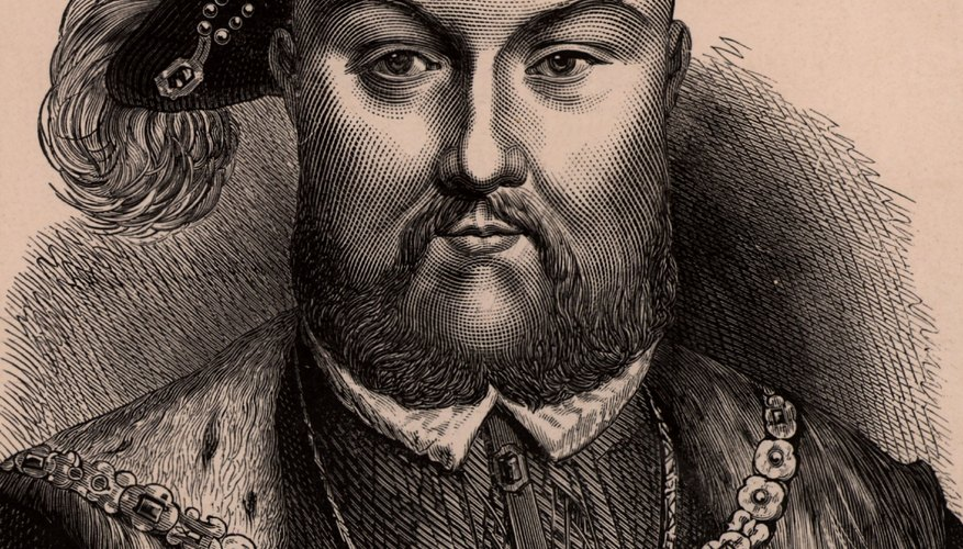 Henry VIII created the Church of England.