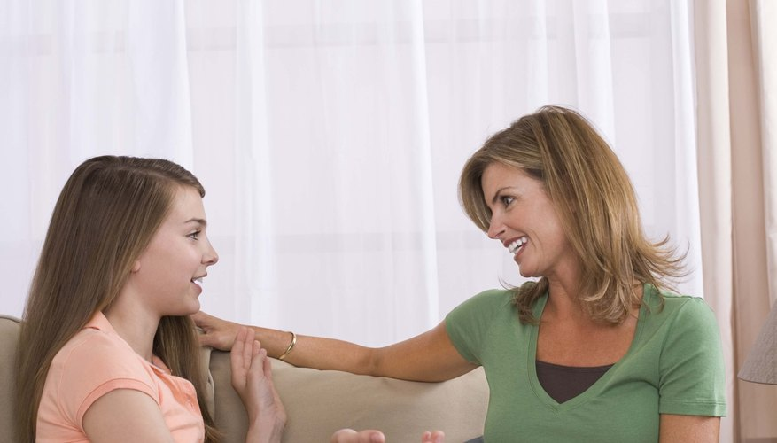 Have an open, honest conversation with your mom about going out with friends.