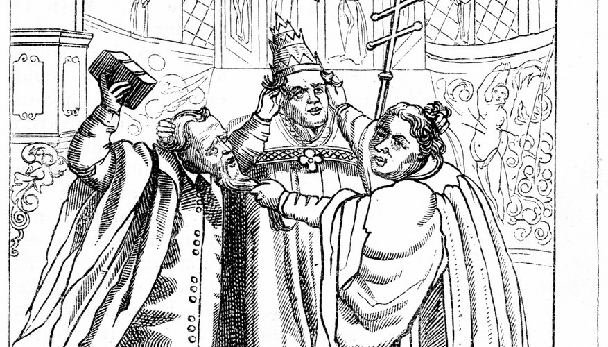 The leaders in the Protestant Reformation inspired the doctrines of Lutherans and Presbyterians.