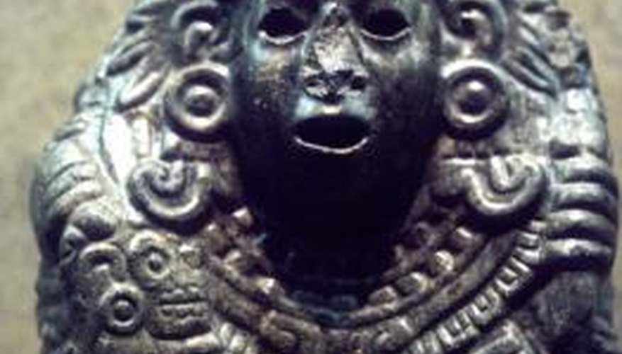 The Aztec and Christian religions developed across the world from each other.