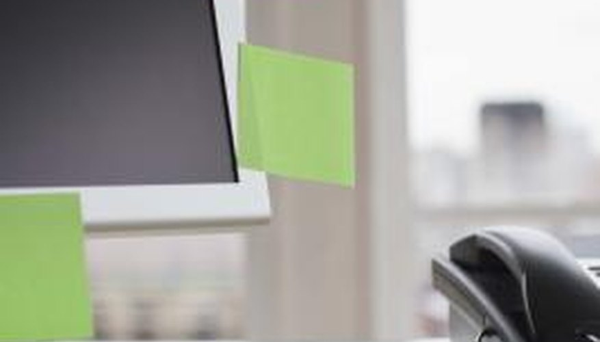 Adding sticky notes directly to your document helps save paper!