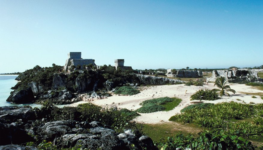 Tulum was a key center of commerce.