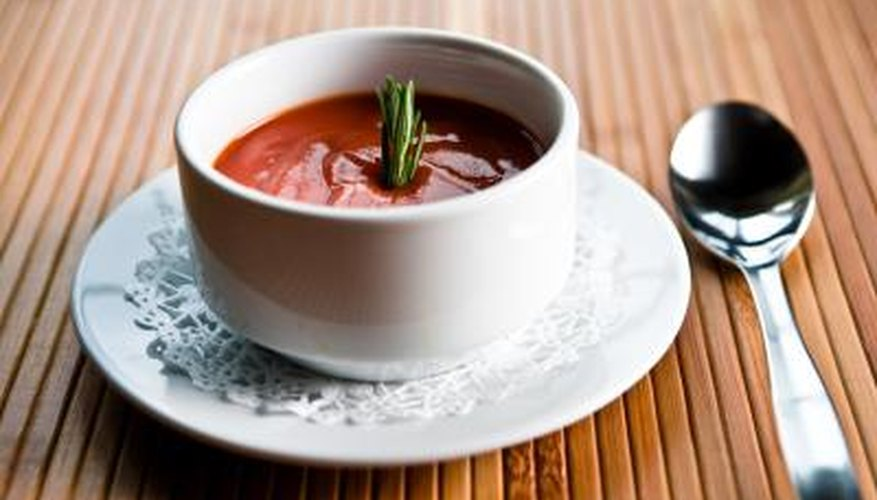 Use tomato purée as a base for tomato soup.