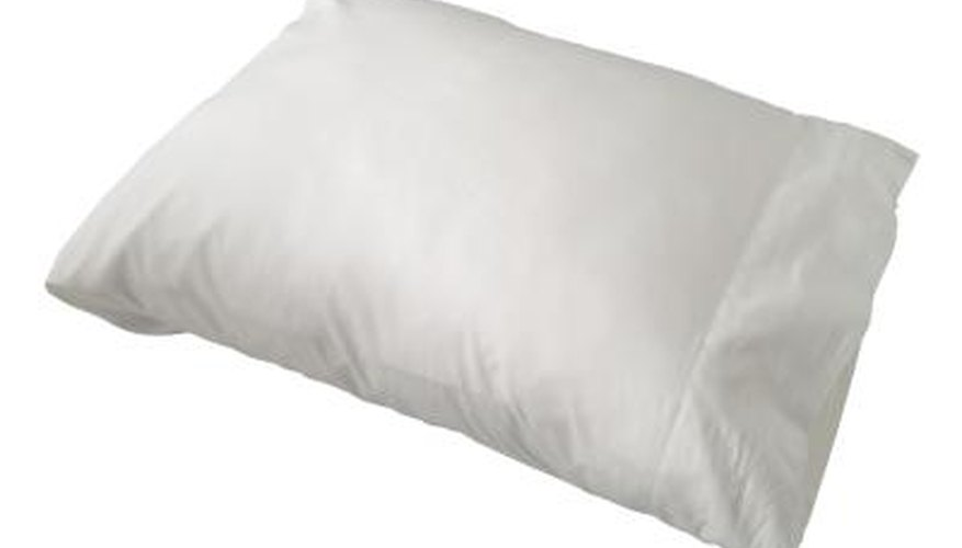 Your pillow's filling determines how you should store it.
