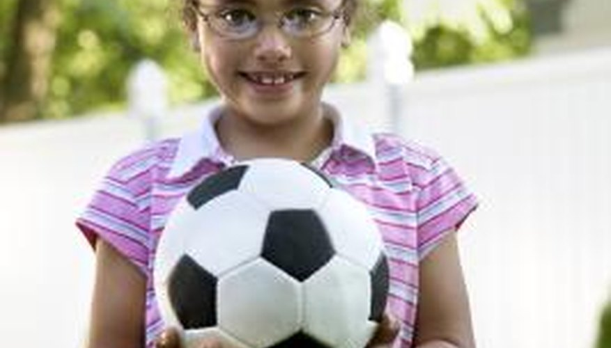 Protect your child's eyeglasses with cable temples and allow her to play.
