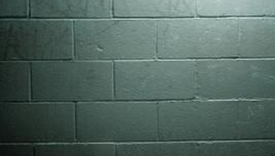Use DRYLOK as an all-in-one step to waterproof and add pizazz to drab concrete walls.