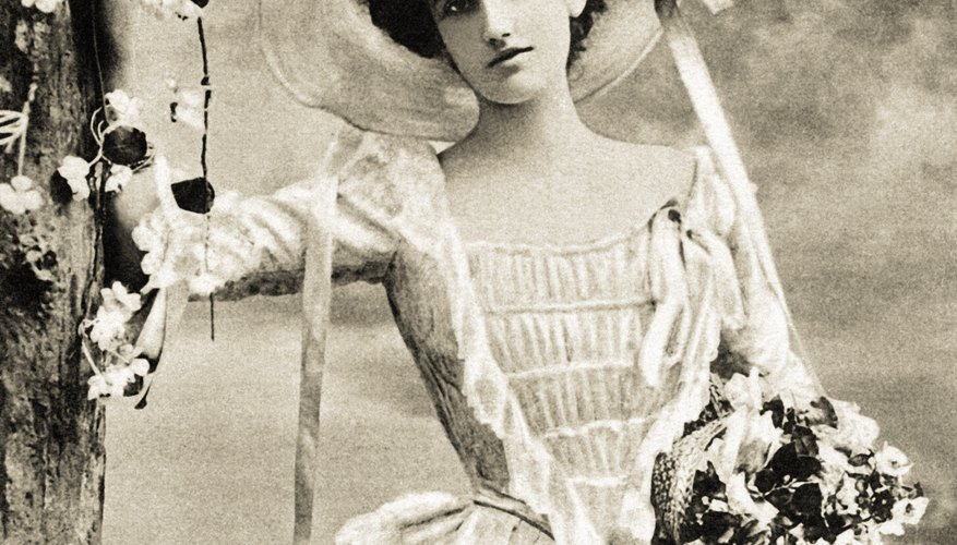 Victorian women often ended their careers as soon as they married.