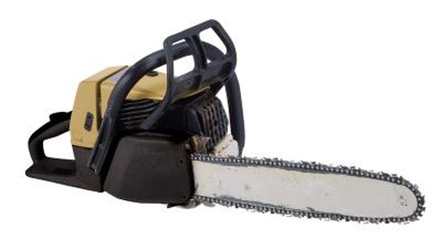 The STIHL 024 chainsaw.
