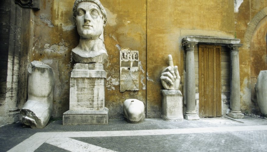 The Emperor Constantine was the first Roman leader baptized as a Christian.