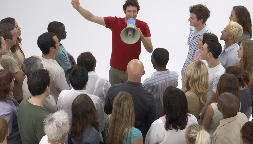 Persuasive speakers know their target audience.