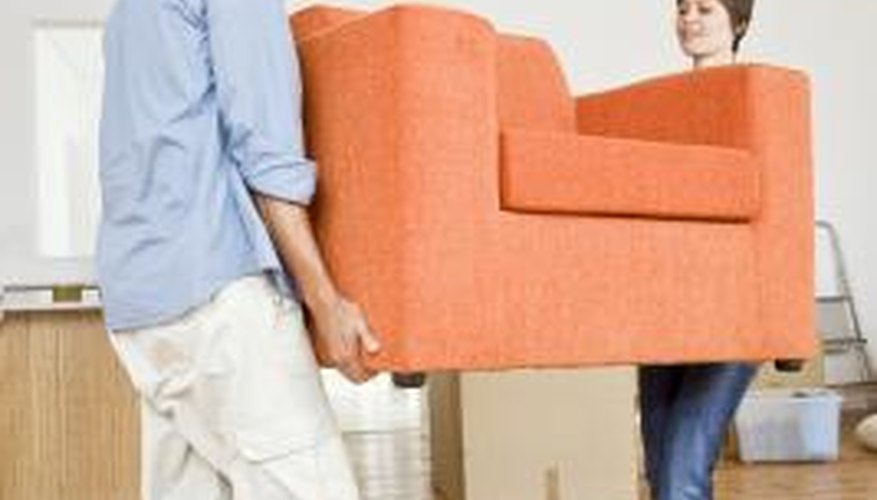 Furniture sliders are an effective way to move furniture around a room without picking it up.