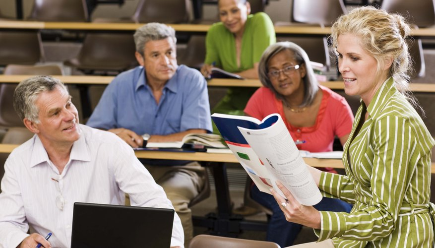 In a student-centered classroom, students and teachers interact frequently.