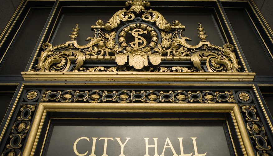 Many municipalities post their protocols for addressing city council meetings on the city's website.