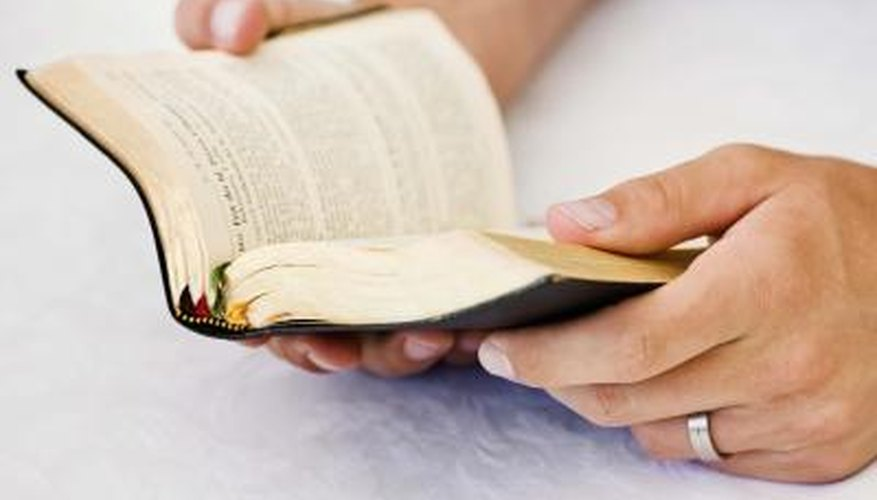 Gilded page edges can make your Bible feel more special and like a family heirloom.