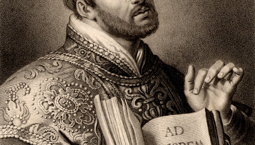 Ignatius Loyola devised a series of meditations as aids to knowing God.