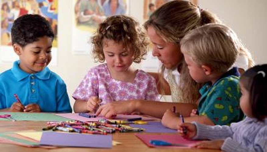 Crafts can be a fun and effective teaching tool.