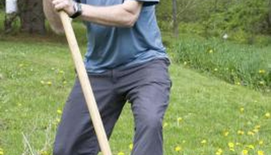 You can dig your own well by hand with a well-digger's shovel.