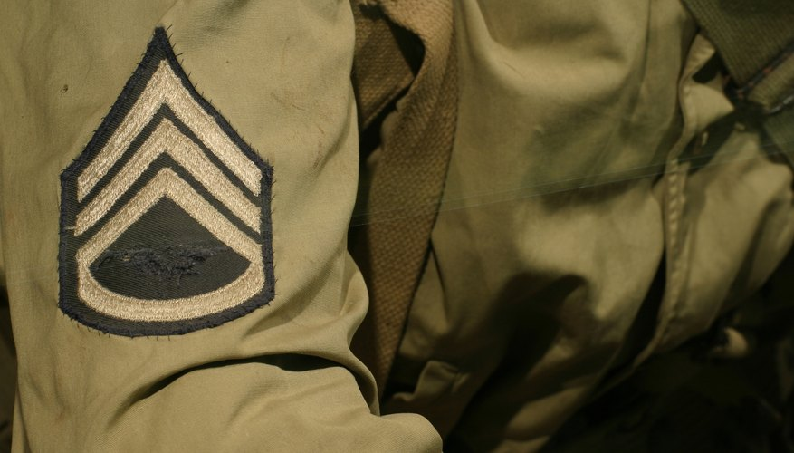 The modern rank of sergeant traces its heritage to the Middle Ages and beyond.