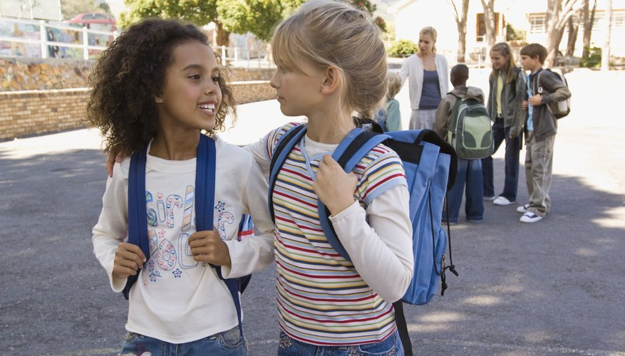Field trips place children in a different social environment.
