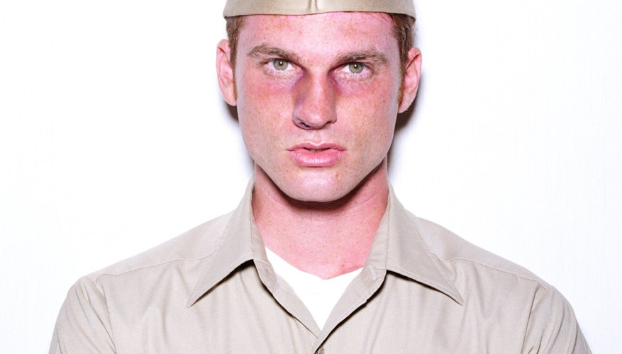 Tan military uniforms are often referred to as khakis.