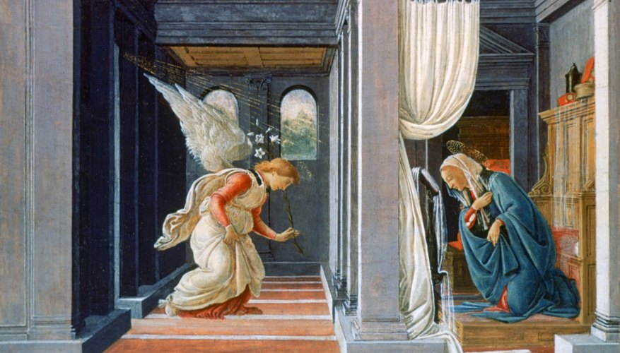 The Annunciation became the event that started the new year in Medieval Europe.