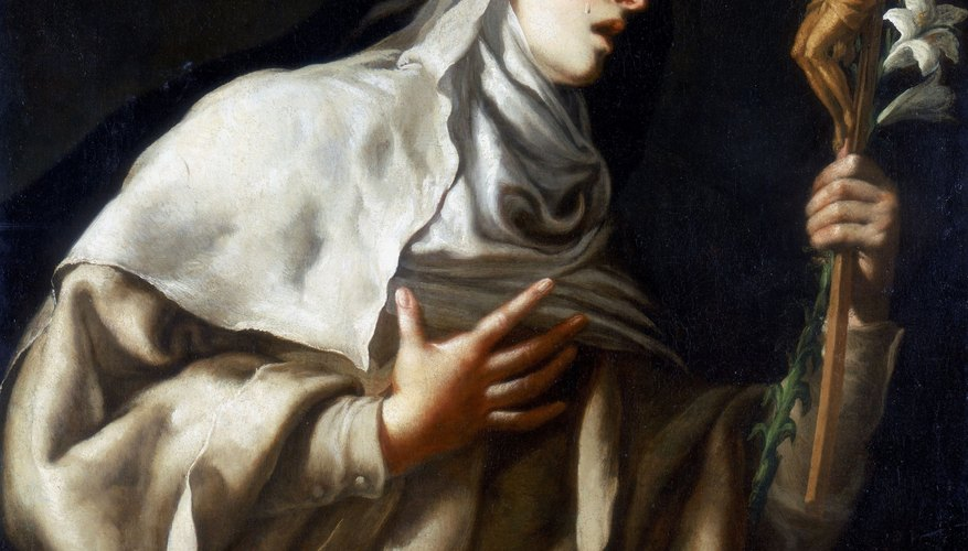 Saint Teresa of Avila promoted meditation during the 16th century.