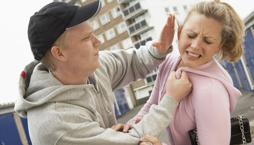 Your boyfriend's abusive behavior is likely to escalate.