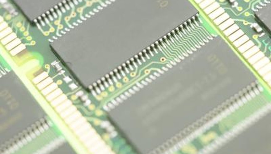 Standard computer memory modules are composed of dynamic RAM.