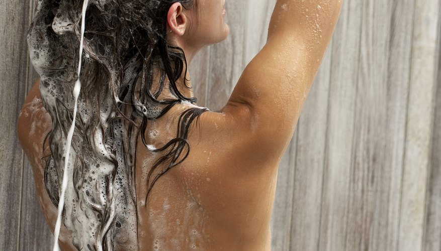 Say no to knotty hair in the shower.